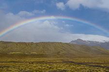 Ein perfekter Regenbogen